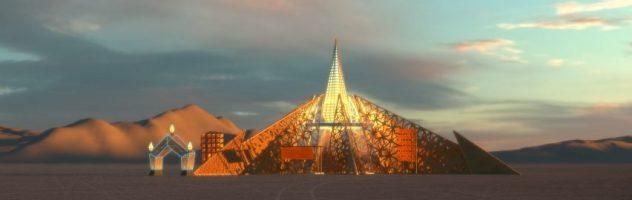 Яким буде дизайн головного храму на Burning Man 2020? (ФОТО)