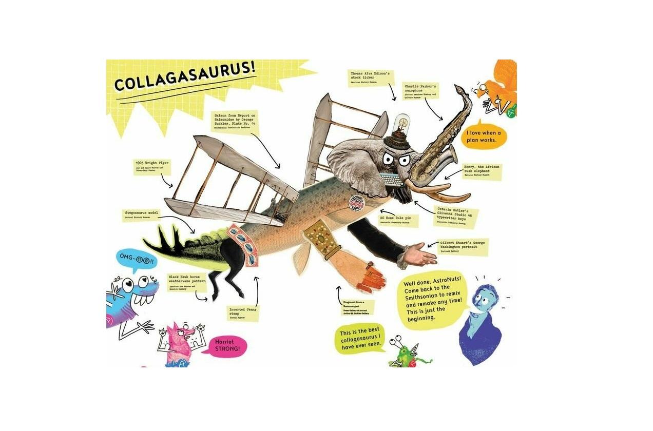 Ілюстрація дитячого буклету-інструкції Джона Шишки і Стівена