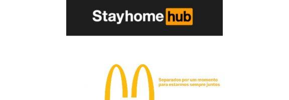 Бренди самі змінюють лого через коронавірус: кейси McDonald's та PornoHub