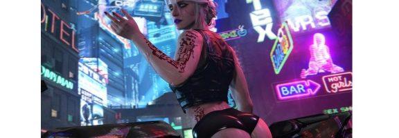 Дизайн для фанатів Відьмака: оригінальні арти Цирі у грі Cyberpunk 2077