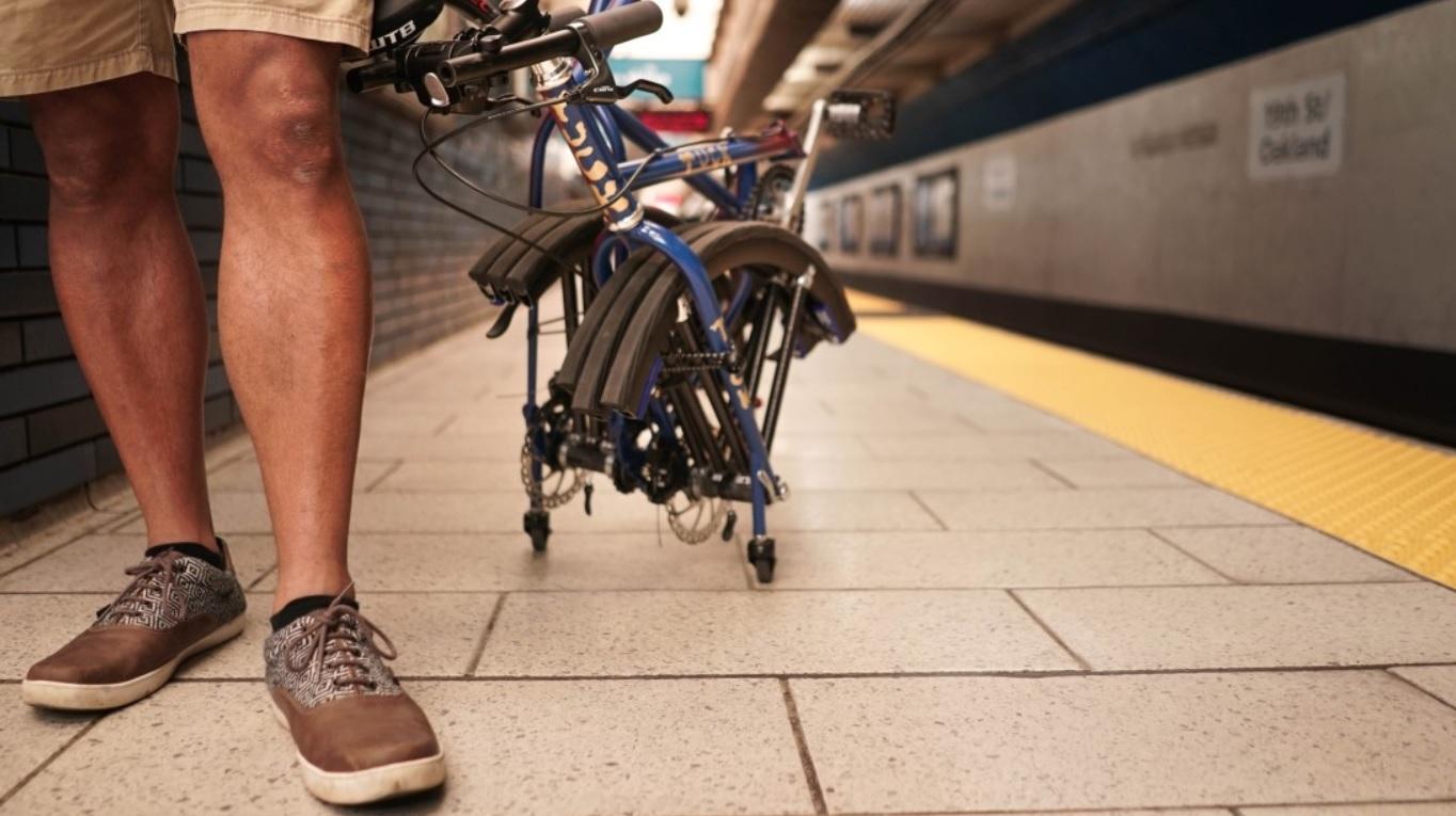 tuckbike складений велосипед