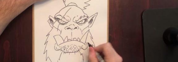 Як малювати орка, пандарена і гнома: уроки від арт-директора Blizzard (ВІДЕО)