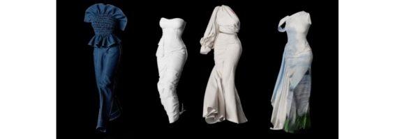 """""""Віртуальний дизайн"""" або як відбувся показ моди на НЕВИДИМИХ моделях"""