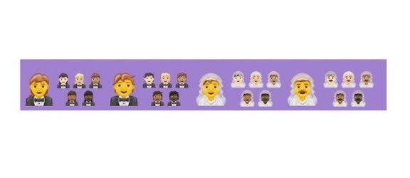 У вересні-жовтні 2020 світ побачить 55(!) нових варіантів дизайну гендеру – у емодзі